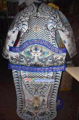 Traditional Chinese Beijing Opera Armor Stage Performance Costumes