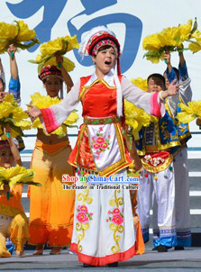 Professional Custom Made National Dance Costumes