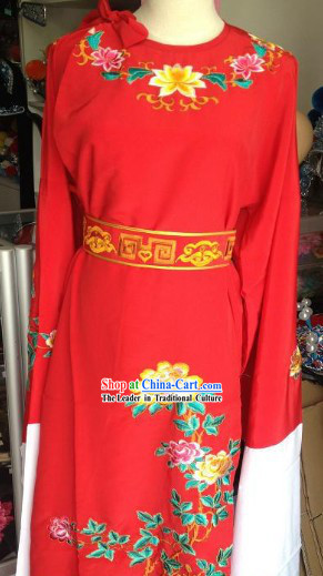 Ancient Chinese Red Wedding Dress