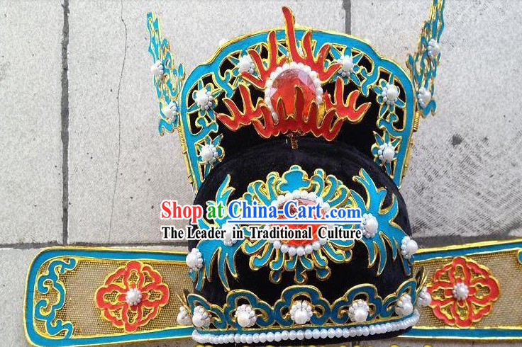 Chinese Opera Xiao Sheng Official Hat
