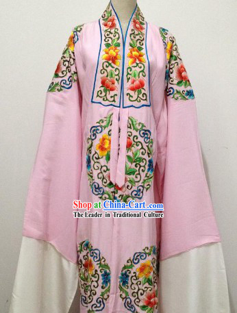 Pure Silk Hands Embroidered Robe