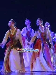 Korean Ethnic Chaoxian Village Dance Costumes Complete Set