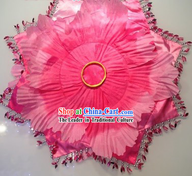 Handmade Flower Dancing Handkerchief Clothes