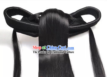 Nie Xiaoqian Xiao Long Nv Style Long Fairy Wig for Women