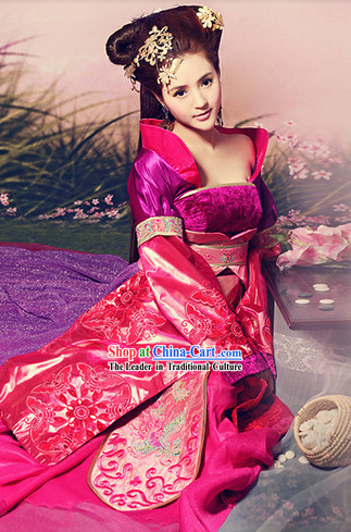 Ancient Chinese Tang Dynasty Princess Clothes