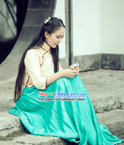China Minguo Period Lady Clothes
