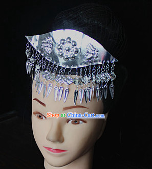 Traditional Miao Silver Hairpin
