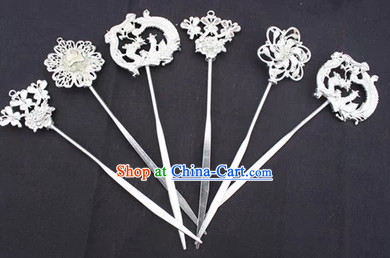 Traditional Miao Silver Hair Pieces