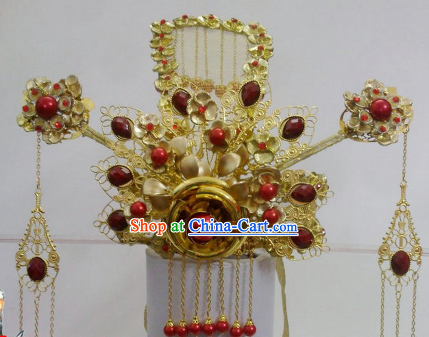 Ancient Chinese Phoenix Coronet