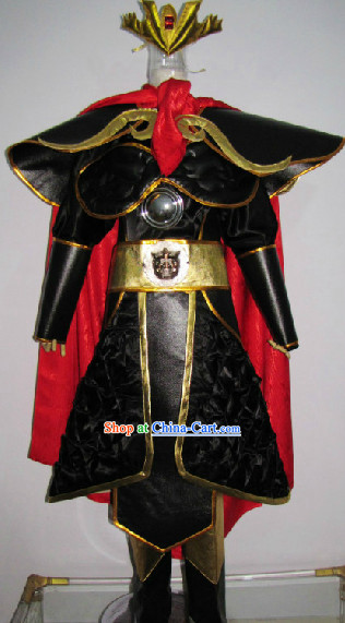 Three Kingdoms Lv Bu Cosplay Costumes Complete Set