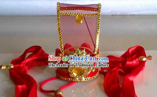 Traditional Chinese Prince Bridegroom Hat Coronet