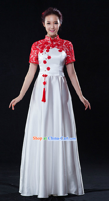 Traditional Singing Group Choir Uniform for Women