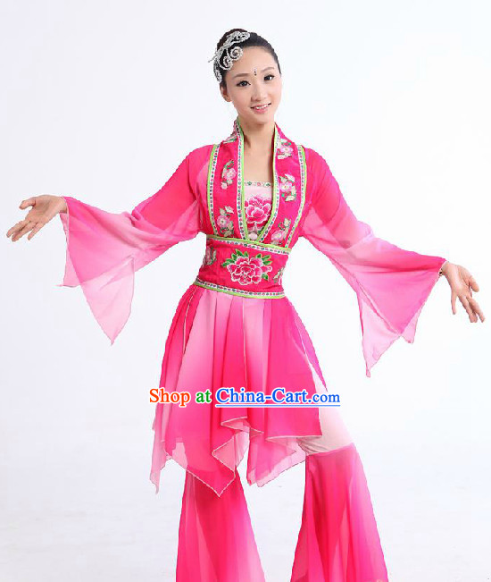 Chinese Classic Yangge Dancing Clothes for Women