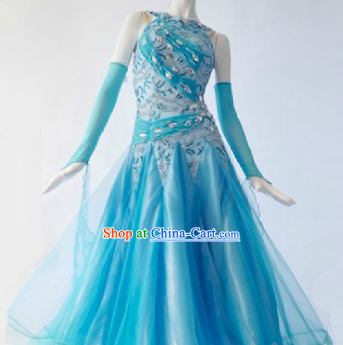 New Style Ballroom Dance Competition Dress