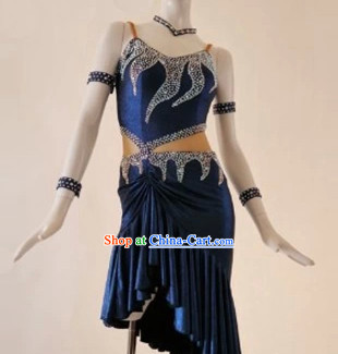 Ballroom Competition Dresses Latin Dance Costumes