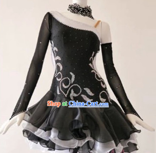 Top Latin Custom Costumes Ballroom Dance Costume