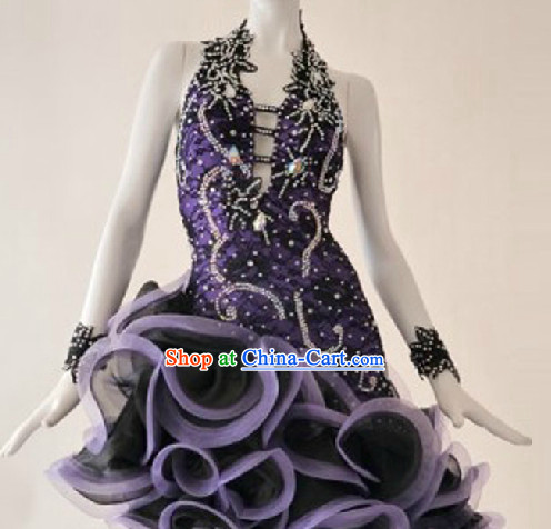 Top Cha Cha Custom Costumes Ballroom Dance Costume