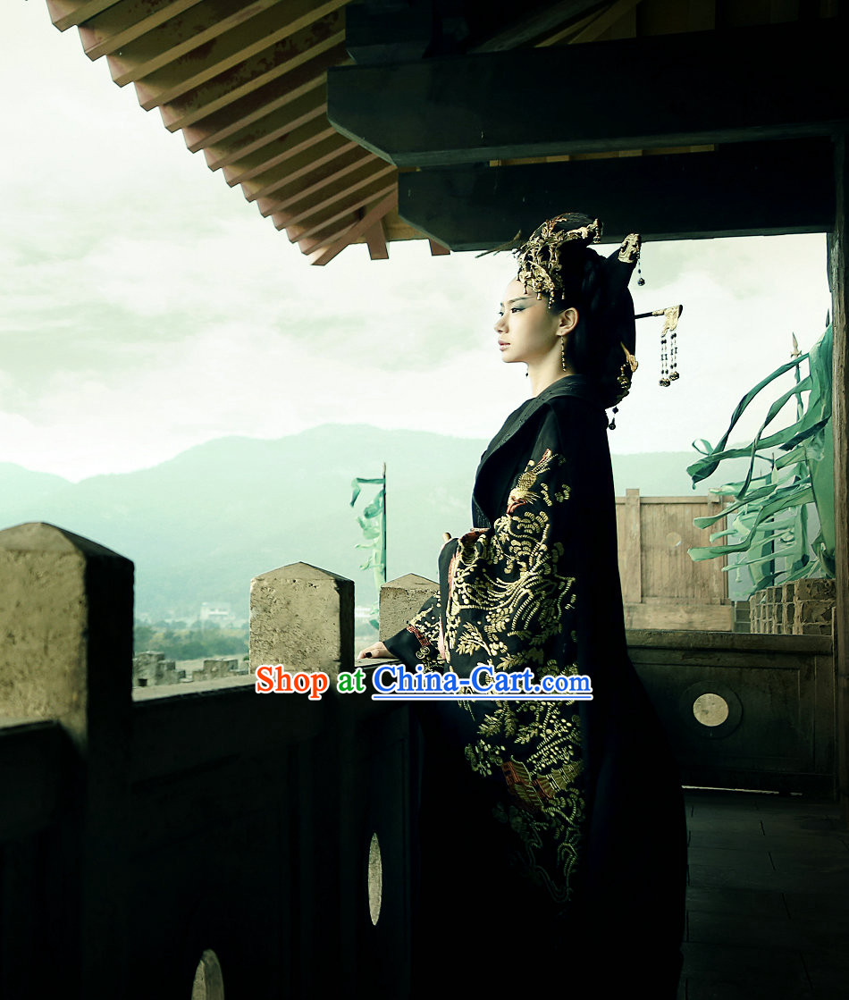 Kuei Ku-tzu Wiser Drama Ancient Chinese Imperial Palace Empress and Hair Accessories Full Set