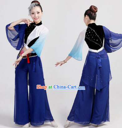 Traditional Chinese Magpie Dance Costumes Complete Set