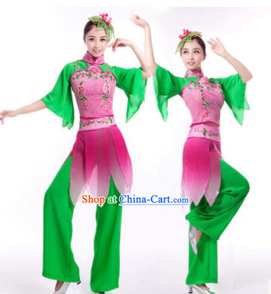 Traditional Chinese Clothing for Professional Stage Performance Dancing