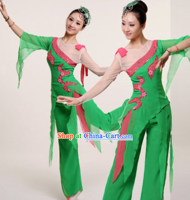 Traditional Chinese Clothing for College Competition Stage Performance Dancing
