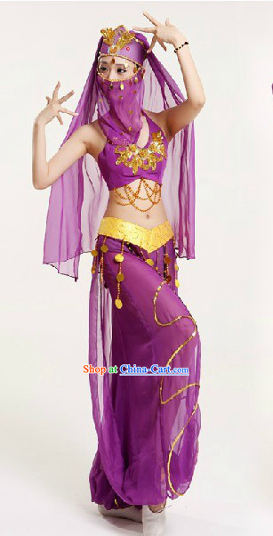 Professional Custom Make Stage Performance Indian Dancing Costumes