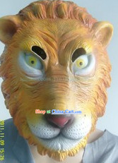 Stage Performance Lion Head Mask