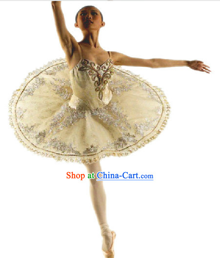 Professional White Tutu Ballet Dance Skirt
