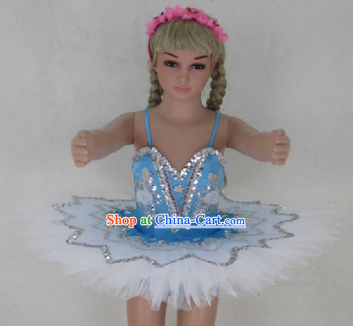 Professional Stage Performance Ballet Tutu Costumes for Kids