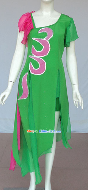 Green Lotus Dancing Costume