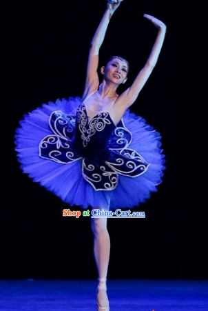 Blue Ballet Dance Tutu for Adults or Kids