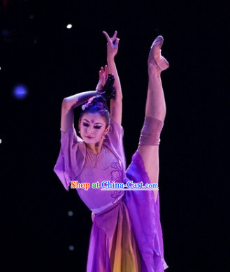 Beijing Dance Academy Wide Sleeves and Leggins Dance Costumes