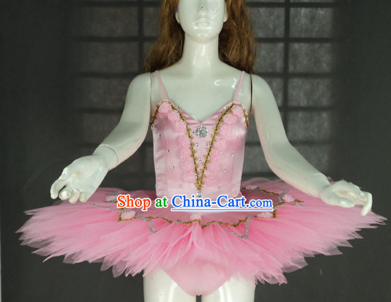 Primary School Students Stage Performance Ballet Dance Costumes