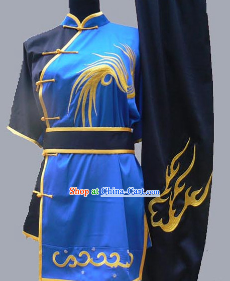 Top Short Sleeves Wushu Students Uniform