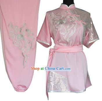 Professional Silk Short Sleeves Competition Costume