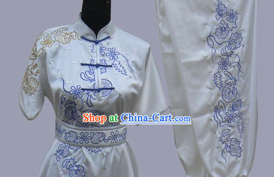 Beijing Sport University Short Sleeves Martial Arts Uniform