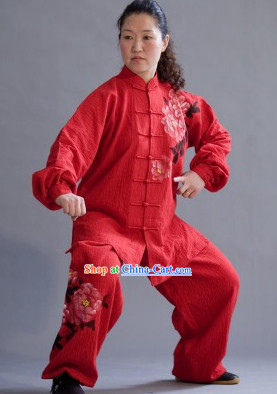 Winter Cotton Tai Chi Kung Fu Suit for Women
