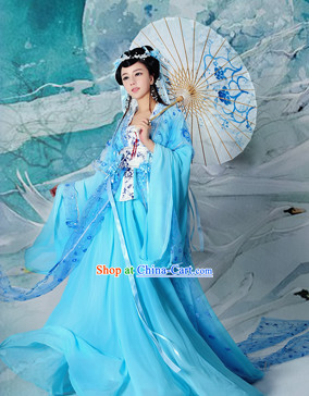 Ancient Chinese Fairy Clothes Complete Set