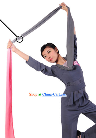 Chinese Long Sleeves Nostalgia Professional Dance Costumes