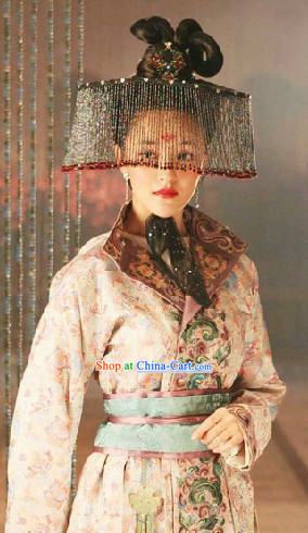 Ancient Tang Dynasty Princess Hat