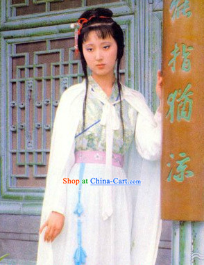 Chinese Lin Daiyu Clothes and Accessories