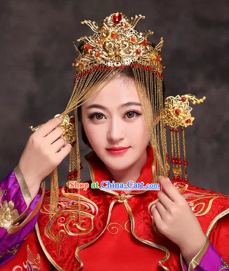Chinese Dragon and Phoenix Coronet
