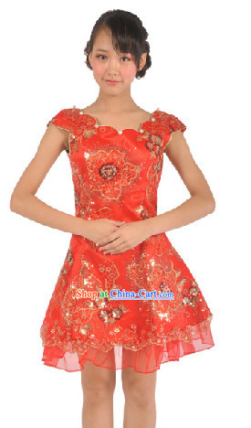 Chinese New Year or Wedding Ceremony Skirt for Women