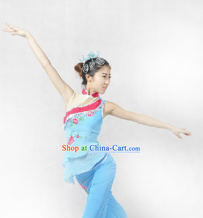 Wholesale Chinese Fan Dance Costume for Women