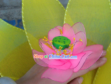 Handmade Finger Lotus Dance Props