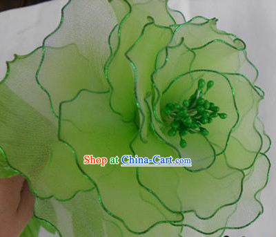 Handmade Green Flower Dance Props