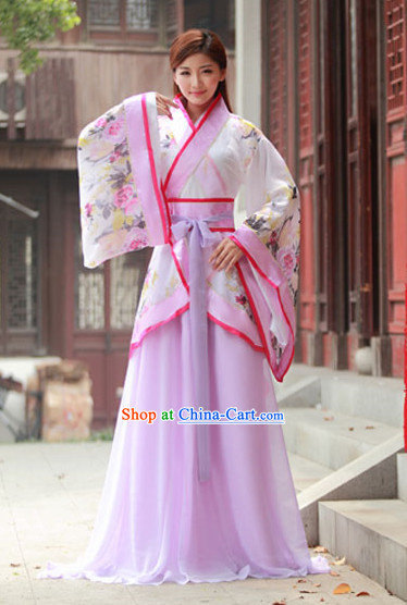 Chinese Ancient Costume Hanbok for Women