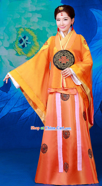 Chinese Lv Zhen Court Dress