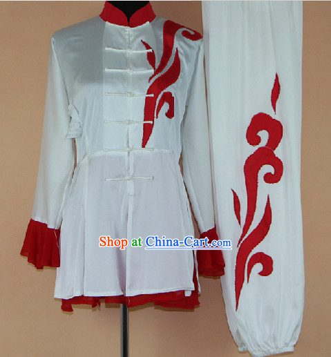 Traditional Chinese Mandarin Silk Martial Arts Suit