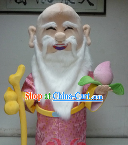 Chinese New Year Shou Xing Mascot Costumes Complete Set